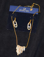 Swarovski Two-Tone Set