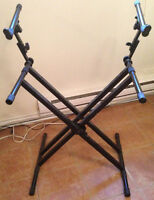 Stand pour clavier musique - Keyboard stand