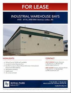 Industrial Warehouse Bays