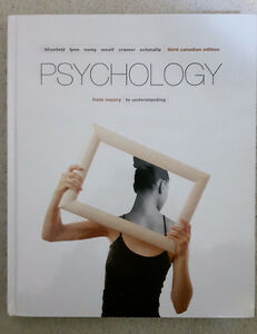 Psychology 104/105 Third Canadian Edition
