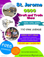 St. Jerome CSCC Craft and Trade Show