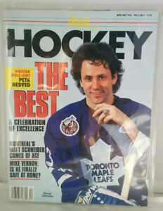 Doug Gilmour Toronto Maple Leafs 1993 Inside Hockey Signed COLLE