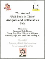 Fall Back In Time Antiques and Collectables Sale