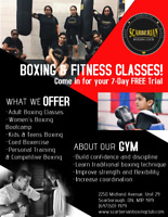 Boxing and Fitness Classes