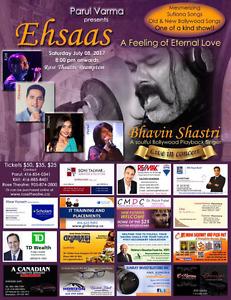 Tickets for Bhavin Shastri show at Rose Theater Brampton