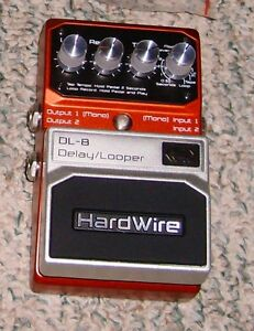 Digitech Hardwire Delay Looper Pedal DL8 Windsor Region Ontario image 1