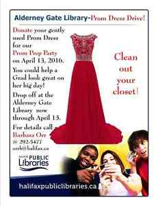 Wanted donations of dresses for a good cause