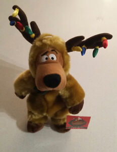 Vintage Warner Bros Scooby Doo Reindeer Bean Bag
