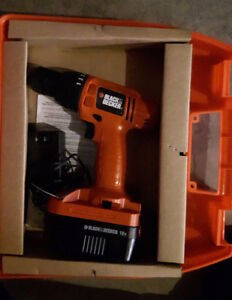 Black and Decker Tools – Drill, Jigsaw, Accessories - one price