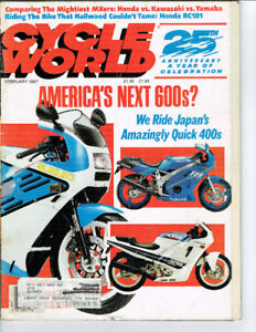 For sale motorcycle magazines from 1983 to 2008