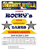 OUTDOOR DART TOURNAMENT