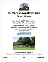 """Open House & FREE """"Learn to Bowl"""" Clinics, May 27 & 28, 11-3pm"""