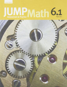 Jump Math 6.1 Part 1 of 2 Workbook | SHIPPING AVAILABLE