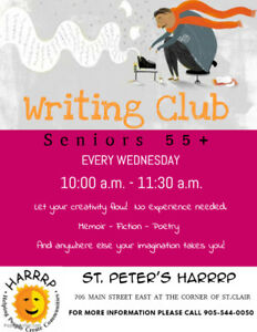 Seniors Writing Group