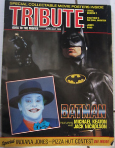 Vintage Batman Issue Of Tribute Magazine