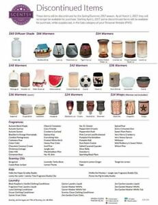 Scentsy Discounted Items