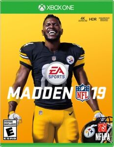 Madden NFL 19 (XBOX ONE) WITH BONUS CODE  BRAND NEW SEALED