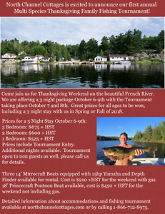 Thanksgiving on the French River