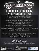 3rd Annual Trout Creek All Auto Show