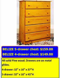 SOLID WOOD SAVINGS!! CHESTS DRESSERS & MORE!!