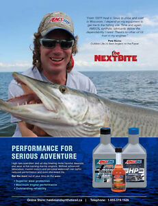 AMSOIL Marine Synthetic Motor Oil for Evinrude, Mercury and more