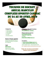Tournoi Hockey Masculin 2019