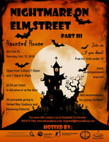 Nightmare on Elm Street Haunted House Fundraiser