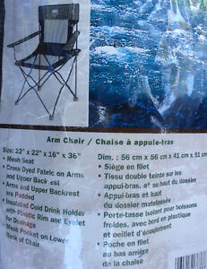 2 chaises camping roots