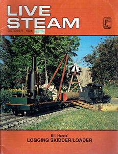 "Nine (9) Different 1991-1992 Copies of ""LIVE STEAM"" Magazine"