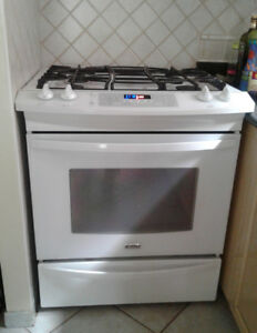 Gas stove and Covection Oven Dual Fuel Slide-In Range