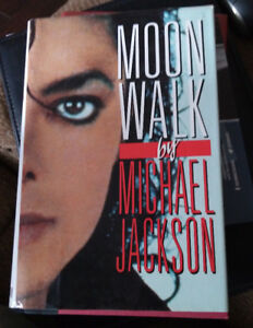 Moon Walk by Michael Jackson - First Edition