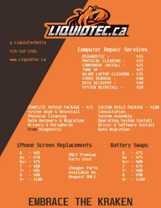 LiquidTec Computer Repairs - FREE diagnostic with Repairs