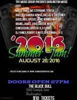 open mic slots available august 26th call or contact steve
