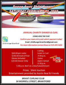 Annual Charity Dinner and Curl