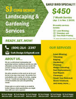 Landscaping, Lawn Care & Gardening Services
