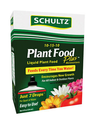 Outdoor Plant Food - Schultz  Plant Food  For Indoor and Outdoor Plants 8 oz.
