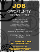 Personal Trainer Wanted - Gold's Gym Burnaby