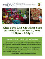 Kids Clothing and Toy Sale!