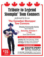 Tribute to Legend Stompin' Tom Connors Performed by his Son Taw!