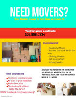need guys to help you move