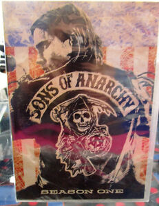 Complete 7 Seasons Sons of Anarchy DVDs NIB Item #281