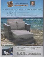 Villa Cabana Out Door Summer Sale - Robinsons 519 455 9910