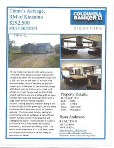 Acreage for Sale by Kinistino