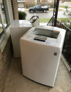 LG Washer & Dryer for sale - High Capacity, Excellent Condition