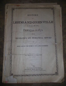 c1879 LEEDS and GRENVILLE Sketch Book of Houses ANTIQUE