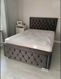 Beds - elegant sleigh and divan- free delivery 🛌🛌🚛🚛👌👌
