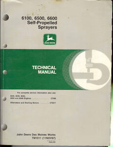 JD Side Hill combine manual