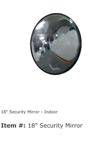 Brand New Security Mirrors