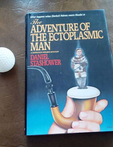 The Adventure of The Ectoplasmic Man, Holmes Meets Houdini