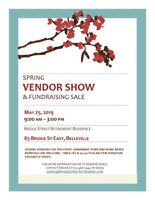Spring Vendor Show & Fundraising Sale
